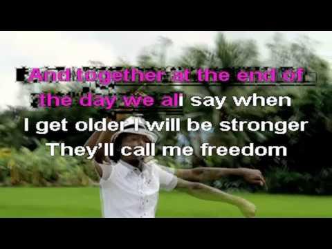 K'NAAN - Wavin' Flag (Karaoke)