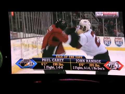 Paul Carey vs John Ramage