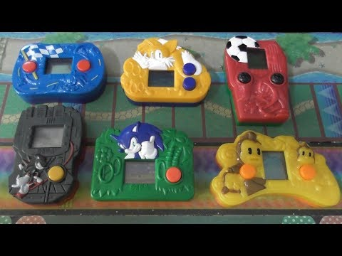 Sonic McDonald's LCD Games
