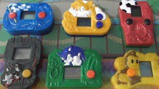 Sonic McDonald's LCD Games