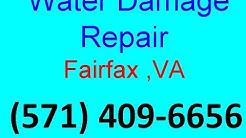 Water Damage Repair Fairfax ,VA   (571) 409-6656   Low Cost Water Damage Restoration