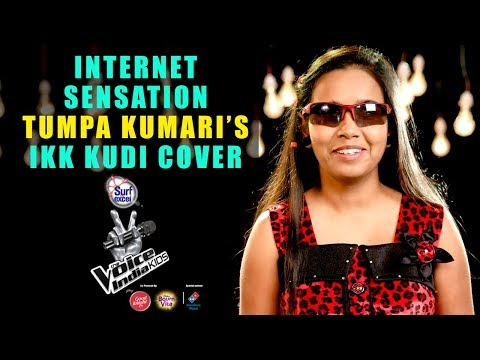 Internet sensation Tumpa Kumari | Ikk Kudi Cover | The Voice India Kids