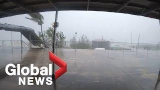 Hurricane Dorian hammers communities in the Bahamas