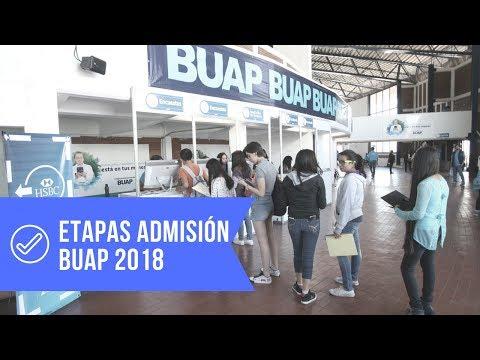 Calendario Admisión BUAP 2018