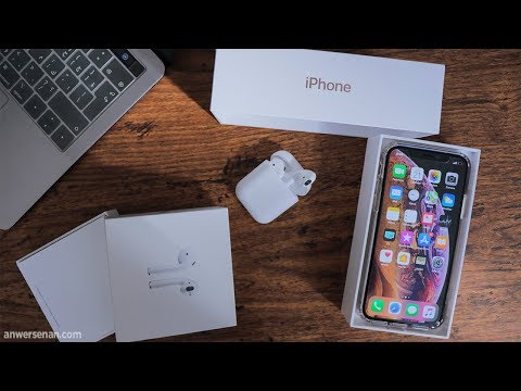 وأخيراً وصلوا iPhone Xs & AirPods 😍