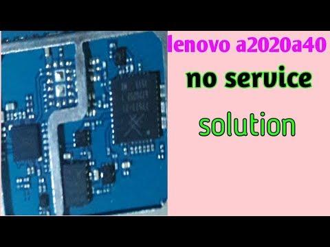 lenovo a2020a40 network problems 2019 || No Service/Signal