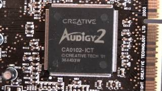 creative sound blaster audigy 2