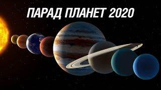 Большой Парад планет-2020. Как это повлияет на жизнь людей?