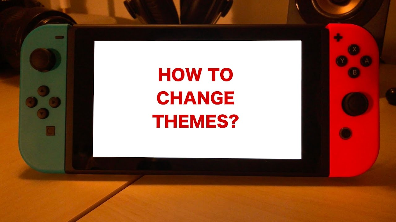 how to change themes