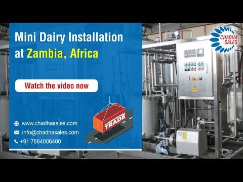 Mini Dairy Installation At Zambia