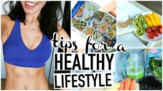 How to start a healthy lifestyle! tips for starting get healthy! be eat mo...