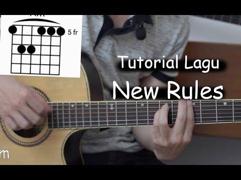 Belajar Gitar (New Rules - Dua Lipa)