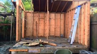 Diy Large Shed Demolition Step By Step