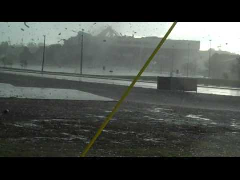 Billings, Montana Tornado Destroys MetraPark