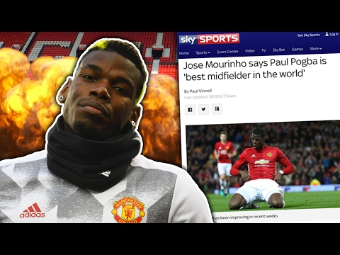 Paul Pogba Is The Most Overrated Player In The World Because…   #SundayVibes