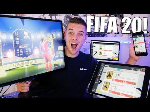 OP ALLE MANIEREN PACKS OPENEN IN FIFA 20!!
