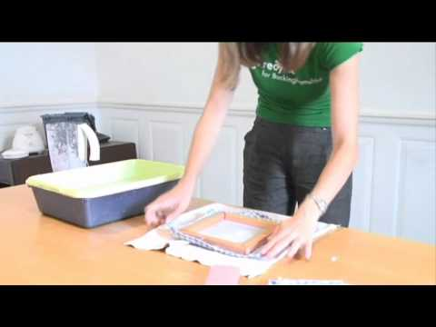 Make Recycled Handmade Paper with Kids: Tutorial with Pictures | 360x480