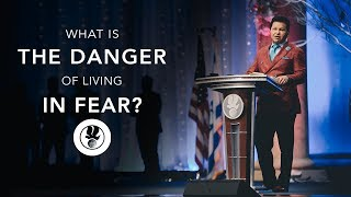 What is the Danger of Living in Fear? - Apostle Guillermo Maldonado   December 17, 2017