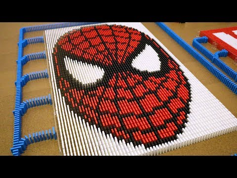 75,000 Dominoes Falling to Relax Your Mind (ODDLY SATISFYING)