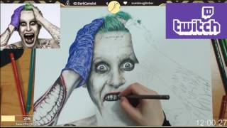 How to draw - Joker Suicide Squad