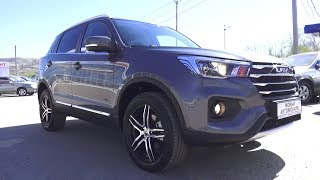 2018 Lifan X70. Start Up, Engine, And In Depth Tour.