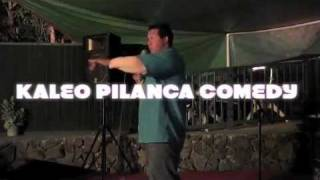 FAVORITE HAWAIIAN STYLE COMEDIAN KALEO PILANCA WITH NATIVE FM RADIO