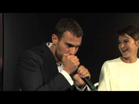 Check Out 'Divergent' Star Theo James Beatboxing!