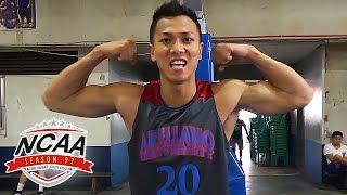 Lervin Flores | Arellano Chiefs | NCAA 92 Rising Star