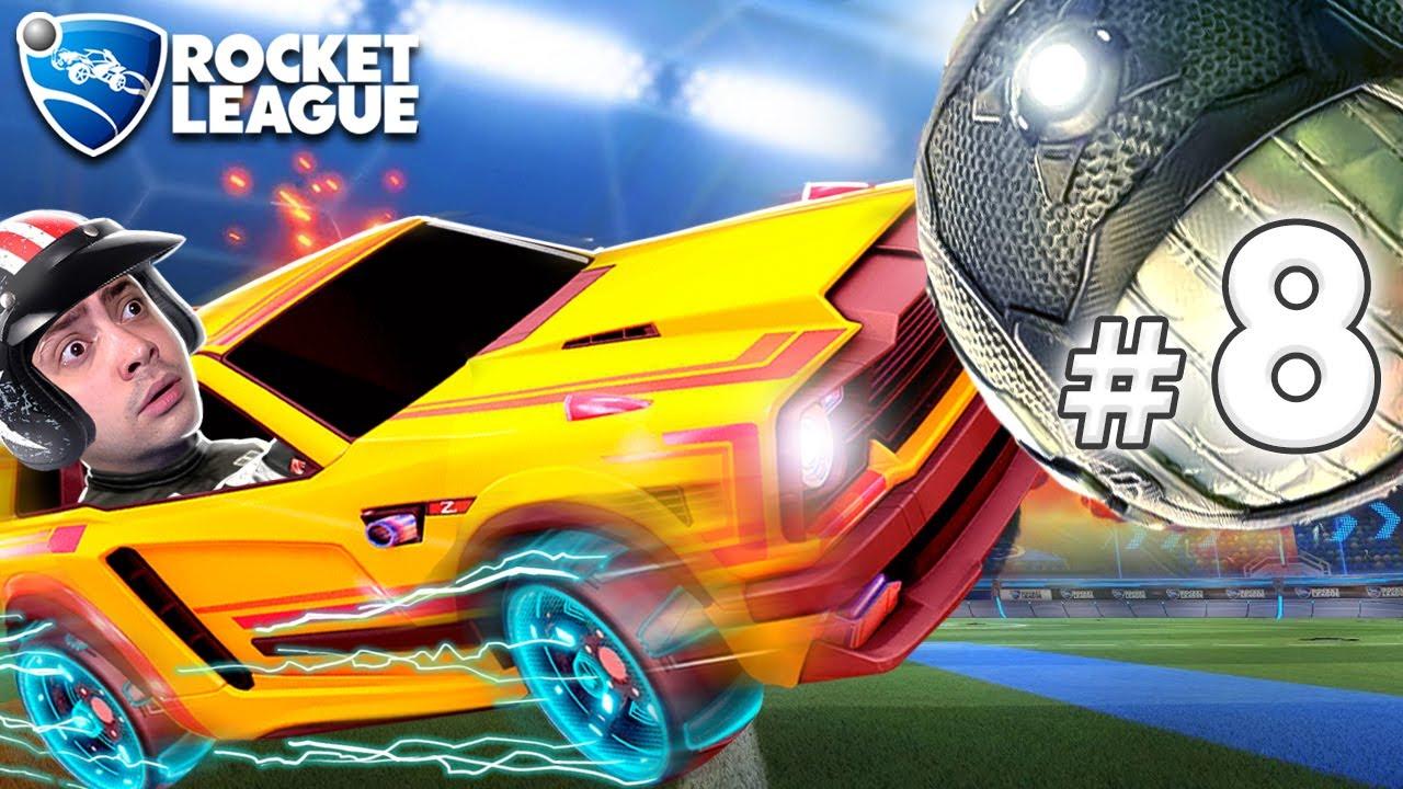 alanzoka jogando Rocket League com os amigos - #8