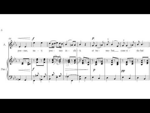 Stabat Mater - Pergolesi Nº 4 Quae moerebat - Karaoke Piano accompaniment
