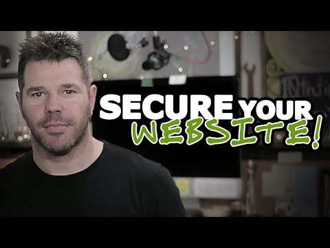 How To Secure Your Website - 4 Steps To BIG Defence @TenTonOnline