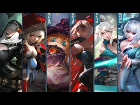 War Song All Heroes & Skin Full HD
