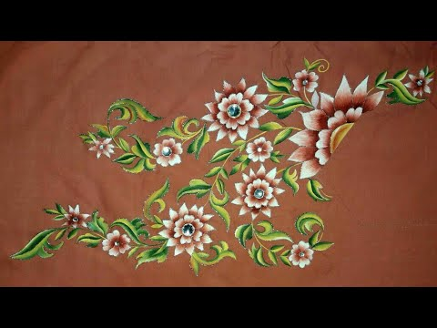 Best Fabric Painting Designs