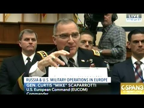 Hearing On Russia And Security Challenges In Europe