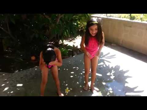 Enrique Iglesias ice bucket challenge by lil kid