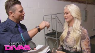 Is Maryse blind? The Miz conducts a scientific test with a little h...