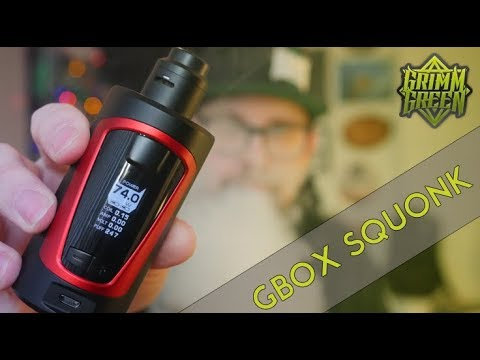 GBOX Squonk Mod ~ GeekVape ~ Review