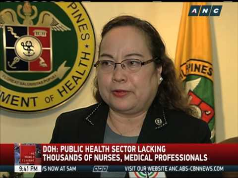 DOLE: 22,00 Jobs Open For Pinoy Nurses In Europe
