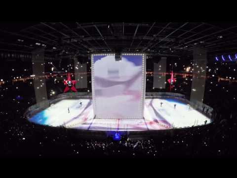 Playoffs Final 2017 Ice Show. SKA - Metallurg. Армия СКА