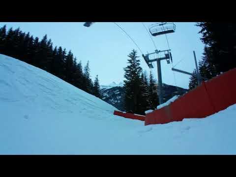 3d video on the sled Valfrejus France