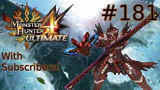 "Monster Hunter 4 Ultimate - Part #181 ""Scardey Cat Conclusion"""