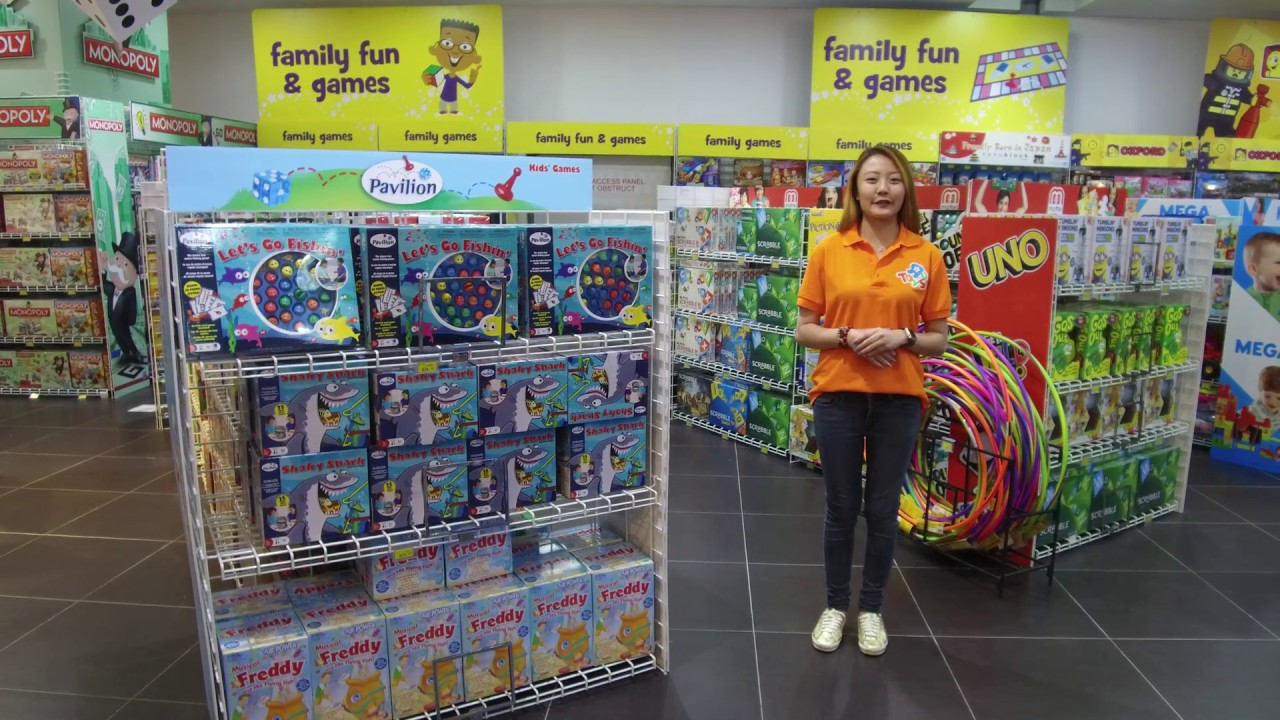 Games For Family At Toys R Us West Gate Youtube