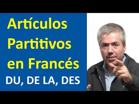 Francés: Los Artículos: Partitivos: DU, DE LA, DES / Curso Francés Básico / Clase Francés 21