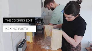 Anna & Mark Make Pasta For The First Time | The Anna Edit