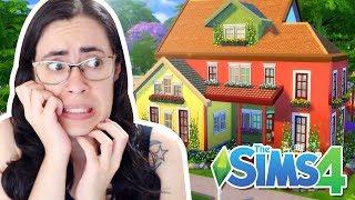 DESAFIO DA CASA PRÉ-FABRICADA - The Sims 4 BUILD Challenge (PRE-MADE ROOMS ONLY)