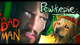 Pewdiepie SΤRΑNGLΕS DOGS!?