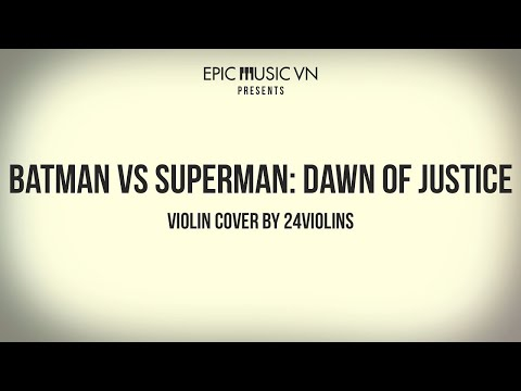 Epic Cover | Batman v Superman: Dawn of Justice - Violin Cover by 24violins