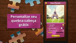 Quebra-Cabeça Real - Jigsaw Puzzles - Android Mobile Game (PT)
