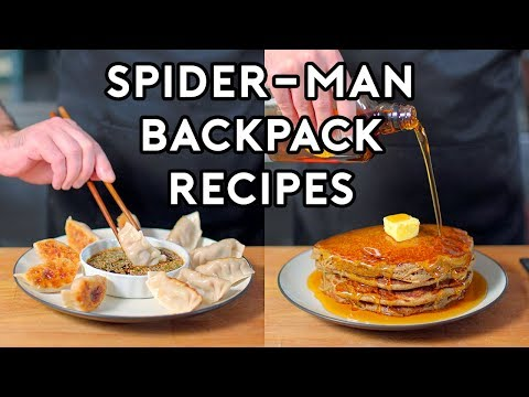 Binging with Babish: Backpack Recipes from Marvels Spider-Man