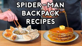 Binging with Babish: Backpack Recipes from Marvel's Spider-Man